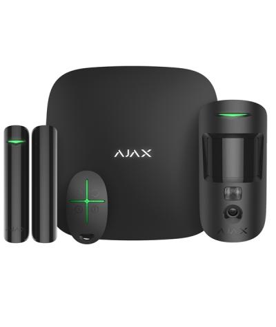 AJAX Starterkit Cam Plus Zwart